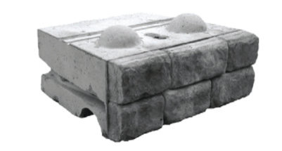 Cobblestone Middle Block Redi-Rock 2400 lbs