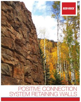 Postive Connection Retaining Wall System Brochure