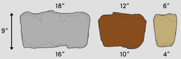Rosetta Belvedere Block Featured Sizes