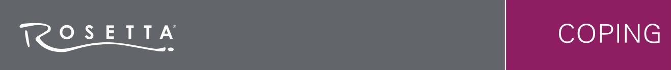 Rosetta Coping Banner