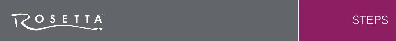 Rosetta Steps Banner