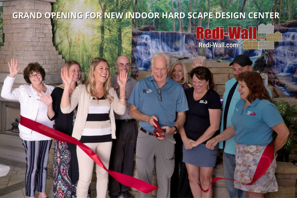 Redi-Wall_Grand_Opening_Indoor_Hard_Scape_Design_Center